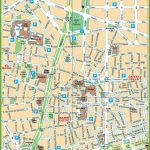 Barcelona City Center Map   Barcelona City Map Printable