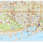 Barcelona City Map   Barcelona City Map Printable