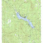 Bass Lake Topographic Map, Ca   Usgs Topo Quad 37119C5   Bass Lake California Map
