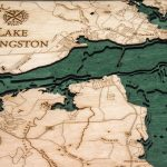 Bathymetric Map Lake Livingston, Texas   Scrimshaw Gallery   Map Of Lake Livingston Texas