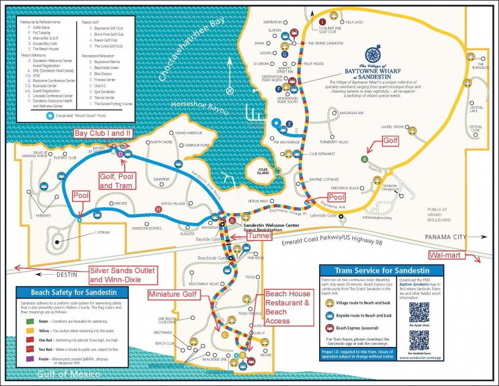 Bay Club Of Sandestin - Sandestin Florida Map