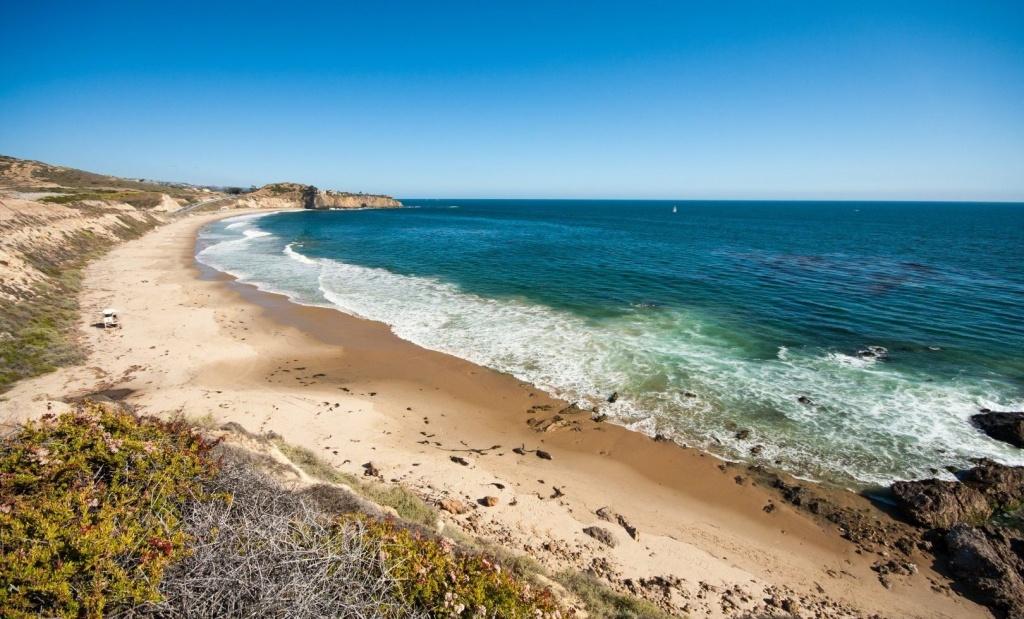 Beach Camping California Map - California Beaches - Camping Central California Coast Map