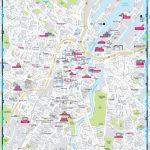 Belfast Sightseeing Map   Belfast City Centre Map Printable