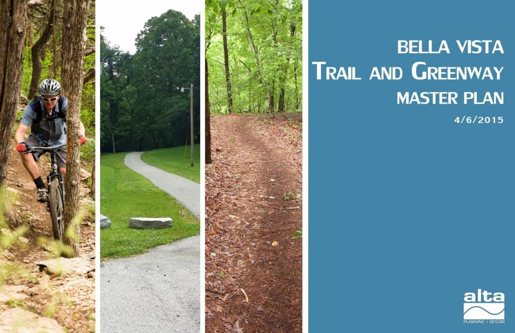 Bella Vista Trail And Greenway Master Planalta Planning + Design - Razorback Greenway Printable Map