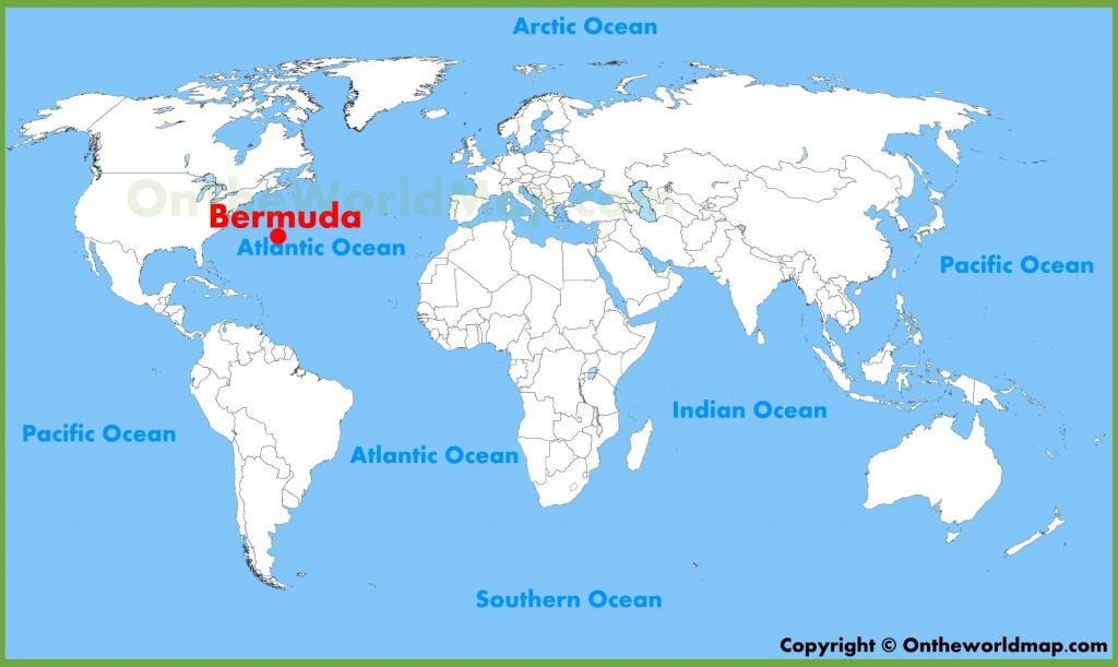 Bermuda Maps | Maps Of Bermuda - Printable Map Of Bermuda
