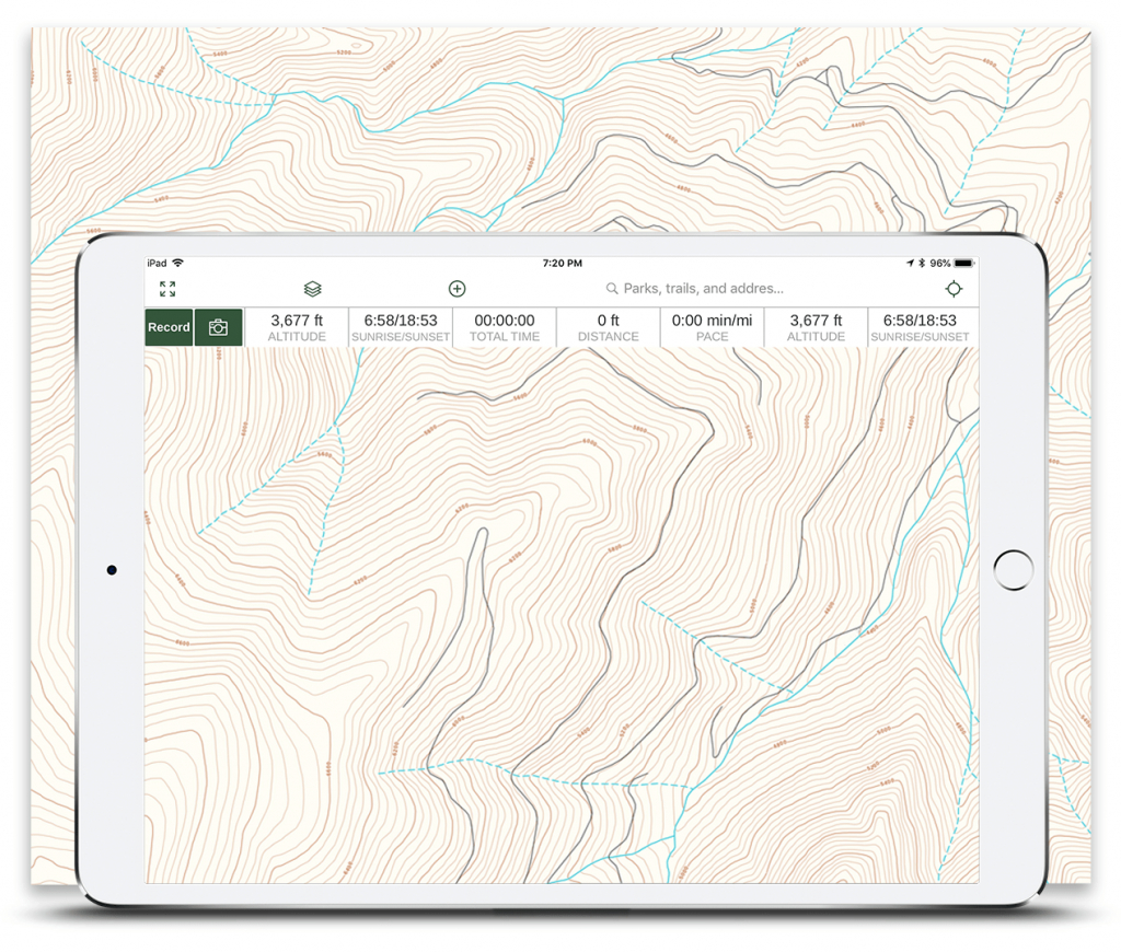 Best 4X4 App - Offline Offroad And Overlanding Trail Maps   Gaia Gps - Off Road Maps Southern California