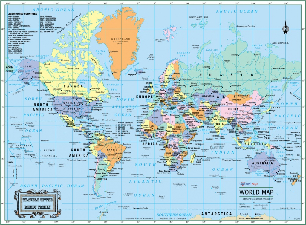 Best Crazy Large Map Print | Isabella - Large Printable World Map
