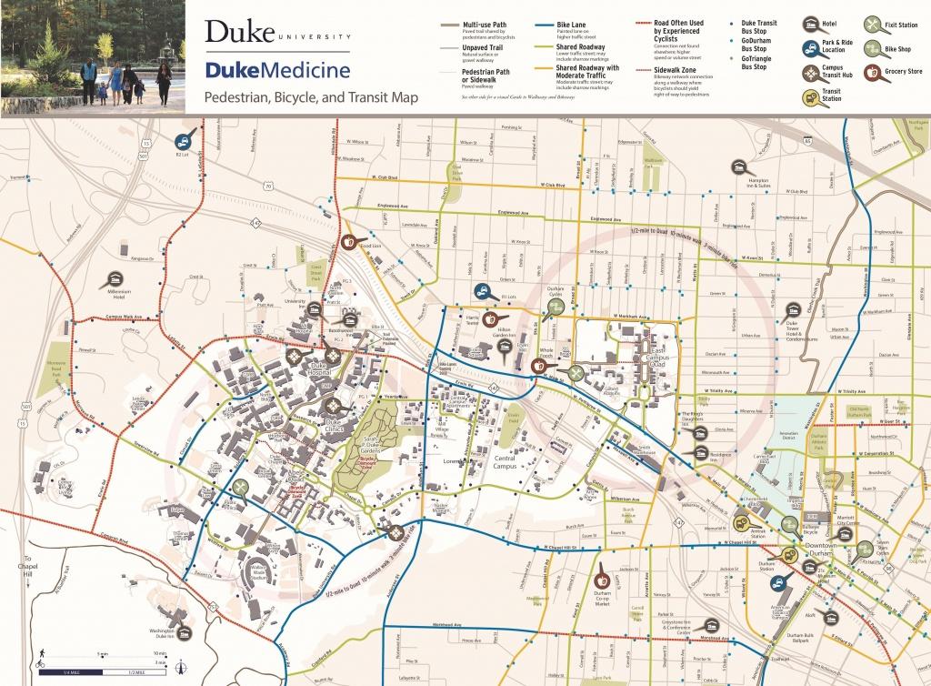Bicycling   Parking & Transportation   Duke - Duke University Campus Map Printable