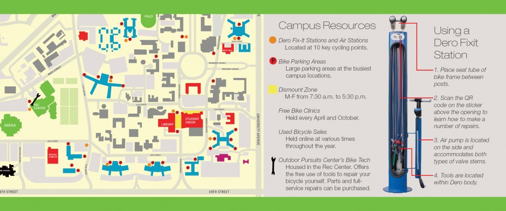 Bicycling | Transportation & Parking Services | Ttu - Texas Tech Dorm Map