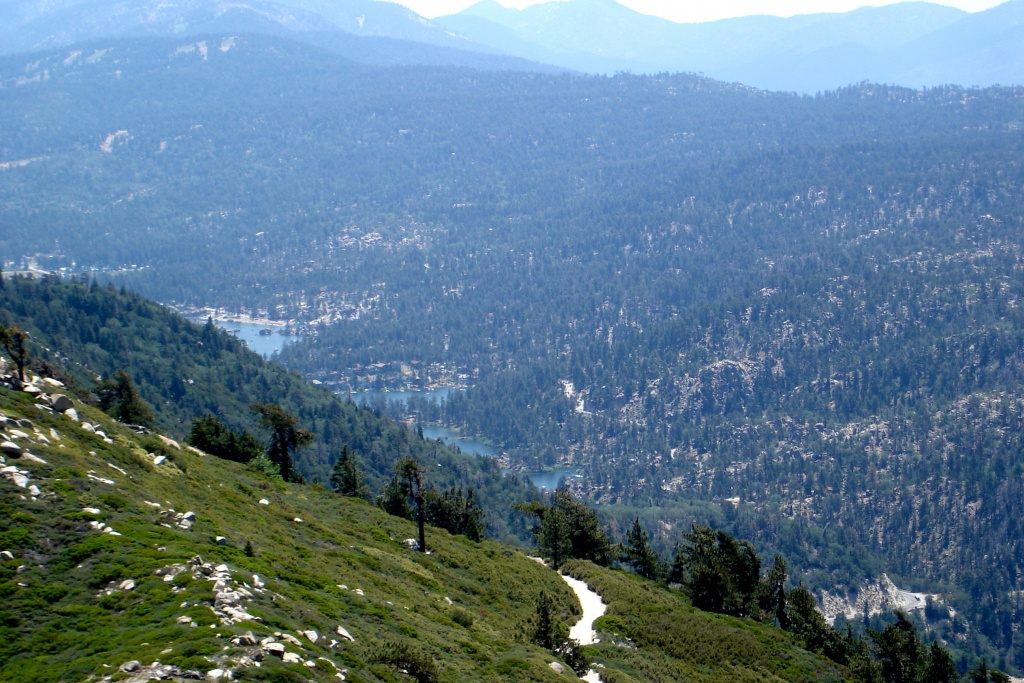 Big Bear Lake, California - Wikipedia - Big Bear Mountain Map California