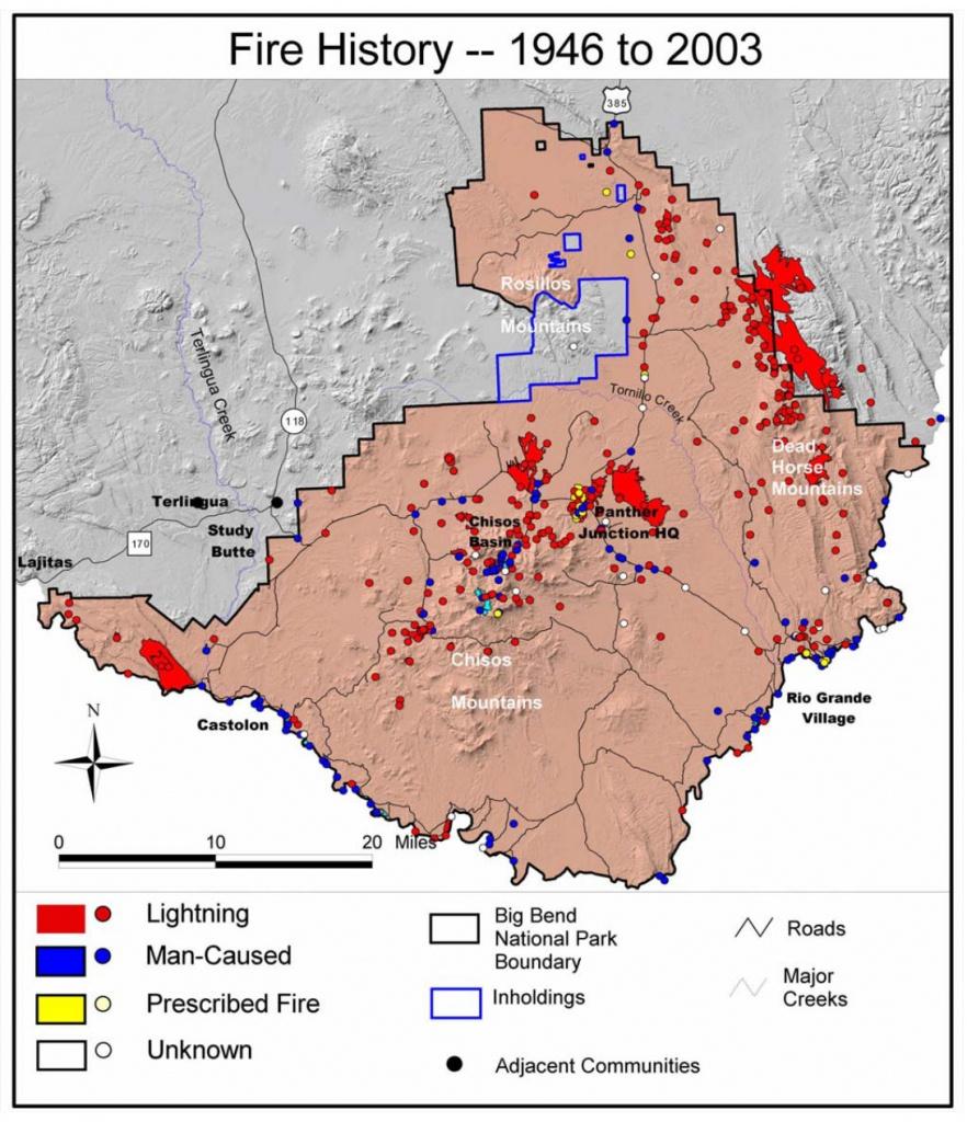 Big Bend Maps   Npmaps - Just Free Maps, Period. - Big Bend National Park Map Texas