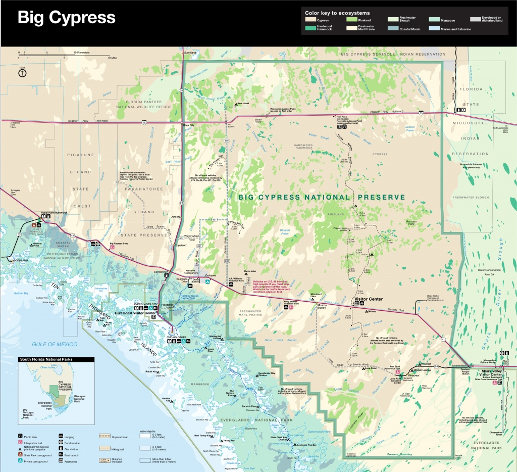 Big Cypress Maps | Npmaps - Just Free Maps, Period. - Tamiami Trail Florida Map