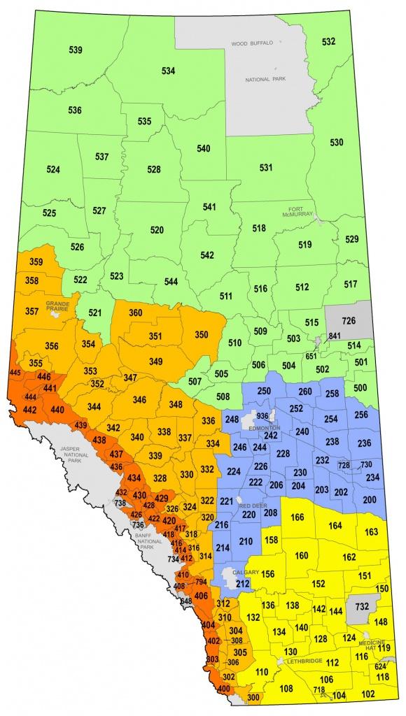 Big Game & Game Bird Seasons (Wmus) - Free Printable Map Of Alberta