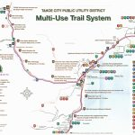 Bike Riding Map For North Lake Tahoe – Www.tahoelaurarealestate   Tahoe City California Map