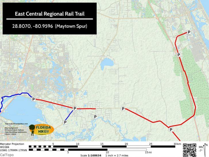 Rails To Trails Florida Map