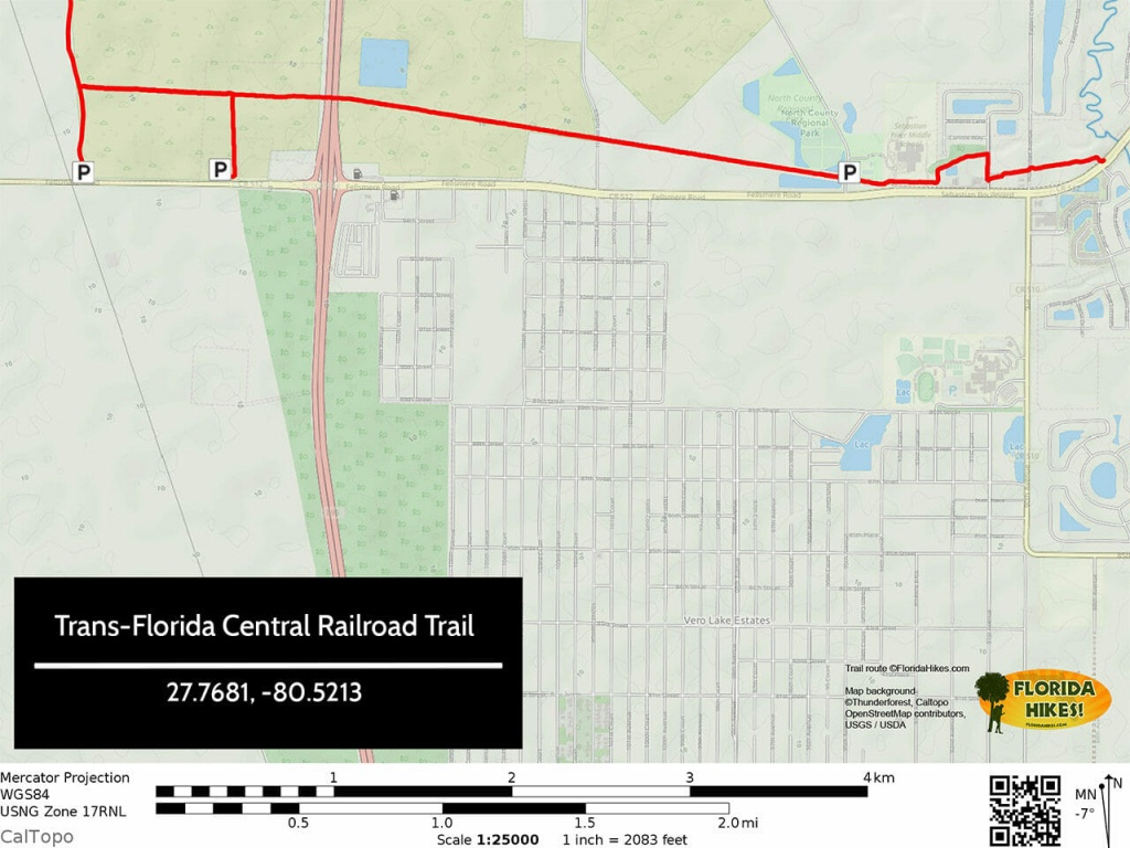Biking The Trans-Florida Central Railroad Trail | Florida Hikes! - Central Florida Bike Trails Map