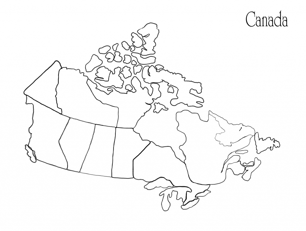 Blank Africa Map Printable Valid Printable Maps Canada Awesome - Printable Blank Map Of Canada To Label