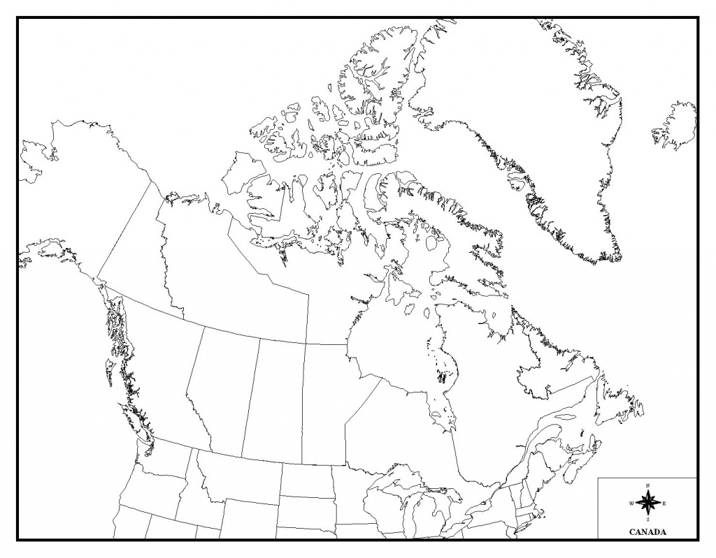 Blank Canada Map Quiz Map Canada Quiz | Travel Maps And Major - Map Of Canada Quiz Printable