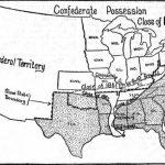 Blank Civil War Map   Printable Civil War Map