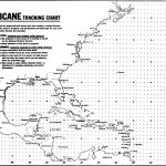 Blank Hurricane Tracking Chart | Hurricanes, Typhoons & Tropical   Printable Hurricane Tracking Map