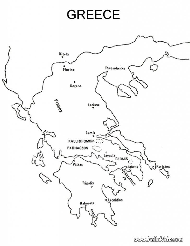 Blank Map Of Ancient Greece   Xorforums - Ancient Greece Map For Kids Printables