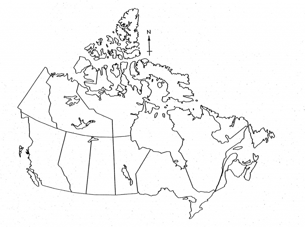 Blank Map Of Canada For Kids - Printable Map Of Canada For Kids - Printable Map Of Canada