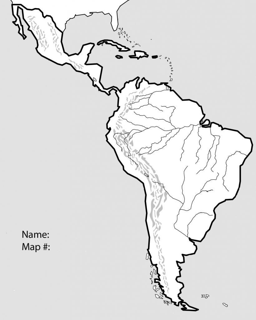Blank North America Map With Rivers Reference Of Us Printable Unique - Central America Map Quiz Printable