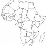 Blank Outline Map Of Africa | Africa Map Assignment | Party Planning - Africa Outline Map Printable