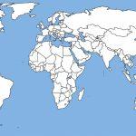 Blank Political World Map High Resolution Copy Download Free World - Blank Physical World Map Printable