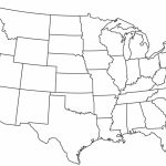 Blank Printable Map Of The Us Clipart Best Clipart Best   Centers - Blank Us Map With State Outlines Printable