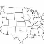 Blank Us Map Pdf – Us Map Printable Pdf