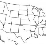 Blank Us State Map Printable East Coast Of Print – Blank Us State Map Printable