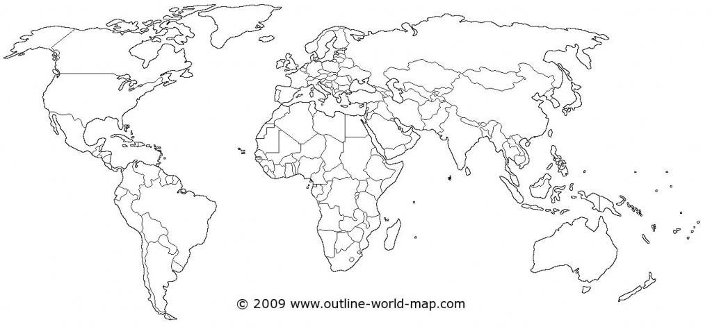 Blank World Map Printable Scrapsofmeme Outline In Pdf Labeled Map - World Map Printable Pdf