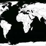 Blank World Map Worksheet ~ Afp Cv   Free Printable World Map Images
