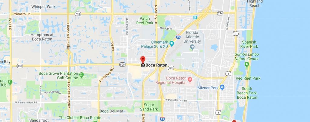 Boca Raton, Fl | The Buy Guys - Boca Florida Map