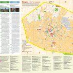 Bologna City Centre Map   Printable Map Of Bologna City Centre