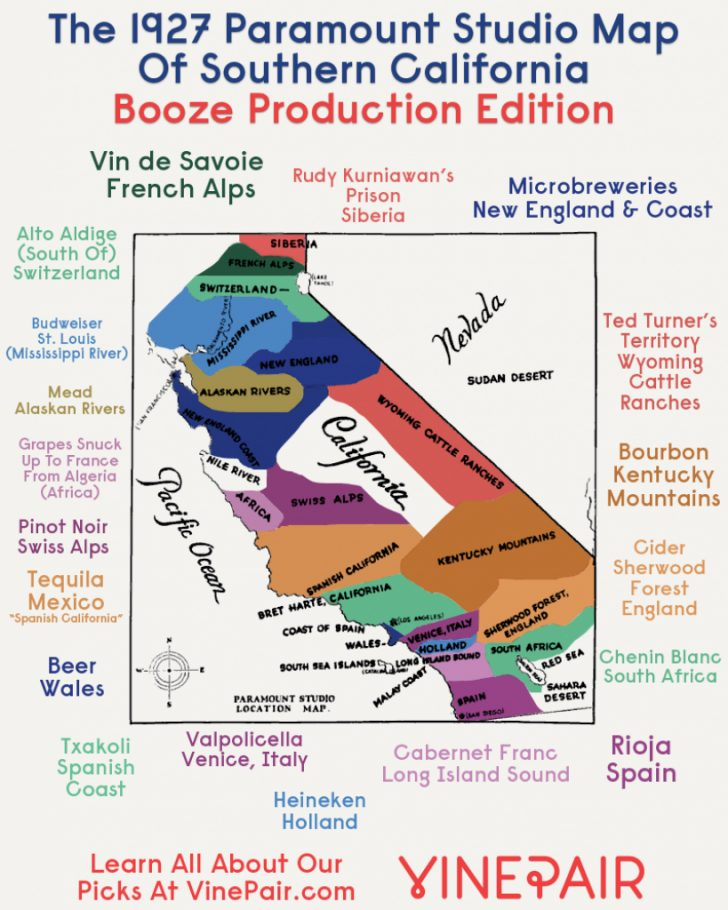 California Beer Map