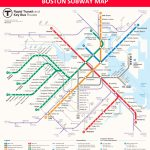 Boston Subway Map - Lines, Stations And Interchanges - Mbta Subway Map Printable