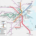 Boston T Map | Metro Maps | Boston Vacation, Subway Map, Boston - Mbta Subway Map Printable