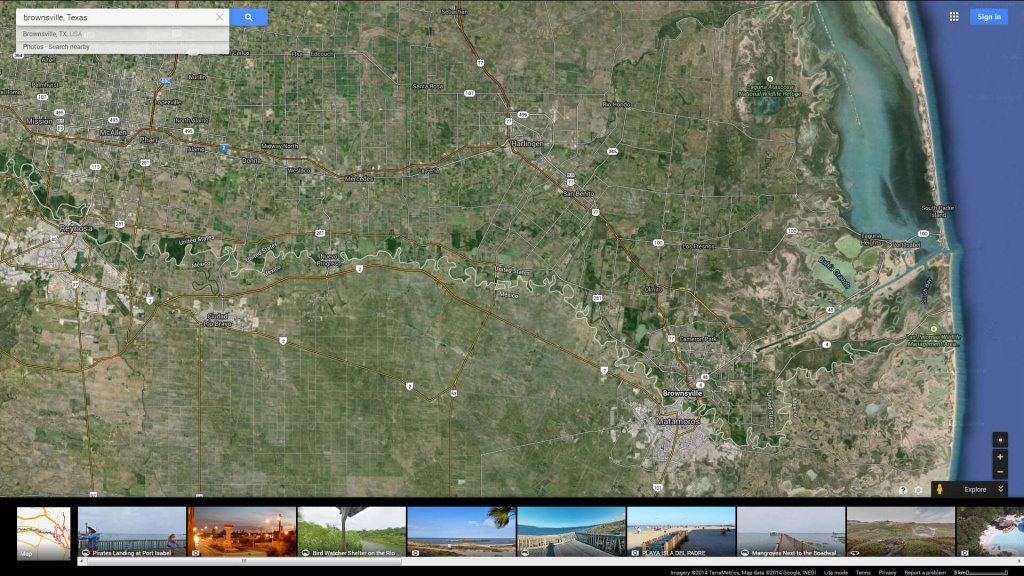 Brownsville, Texas Map - Brownsville Texas Map Google