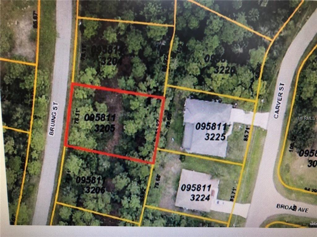 Bruing Street, North Port, 34286   Fannie Hillman + Associates, Inc. - North Port Florida Street Map