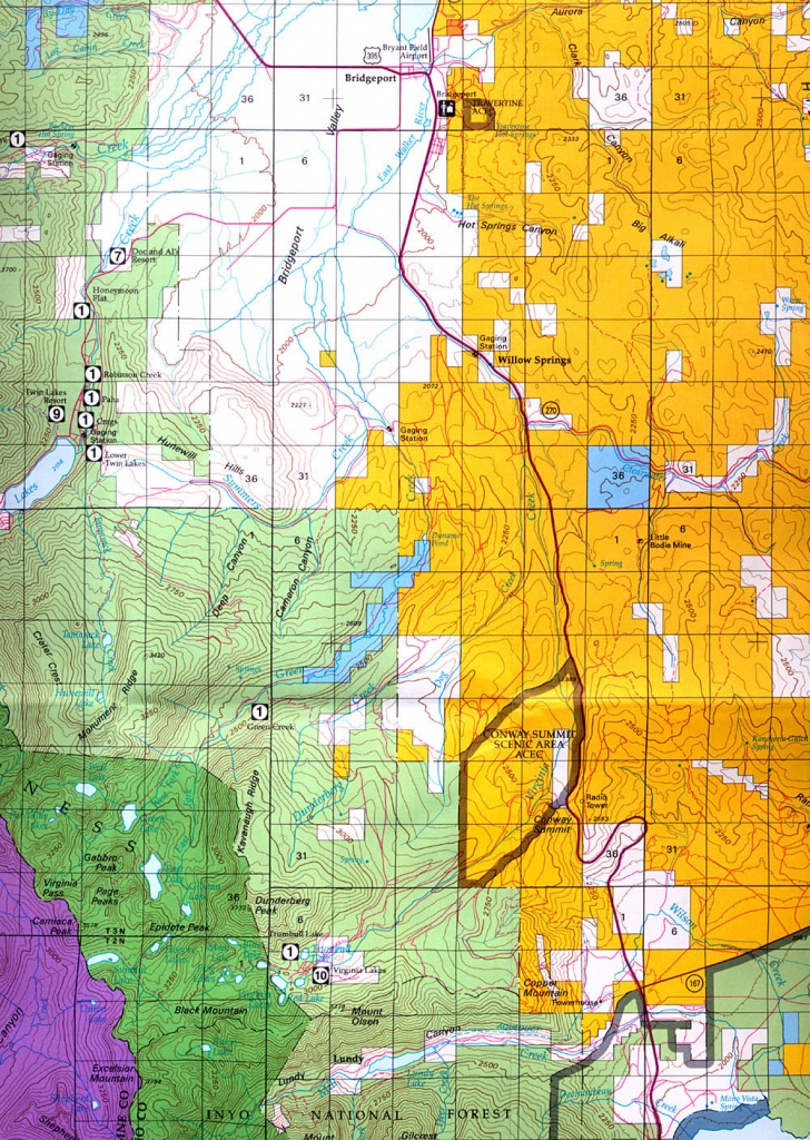 Buy And Find California Maps: Bureau Of Land Management: Northern - Blm Maps Southern California