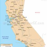 Buy California Rail Map   California Railroad Map