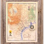Buy Texas Revolution Map 1836 Large Framed   Republic Of Texas   Texas Map Framed Art