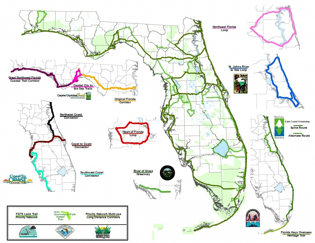 C2C: Only The Beginning Of Florida Trails | Bike/walk Central Florida - Florida Greenways And Trails Map