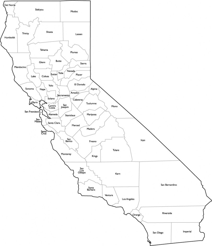 Ca Tribe Google Maps California California County Map Pdf With State - California Map Pdf