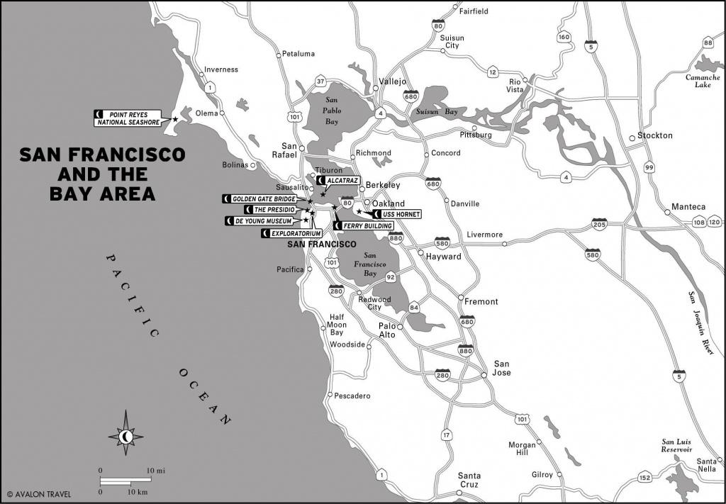 Cal_01_San-Francisco-And-The-Bay-Area   Logo Designs And Inspiration - San Francisco Bay Area Map California