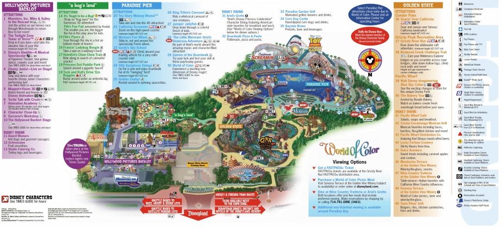California Adventure Map Pdf Disneyland My Blog Inside | D1Softball - California Adventure Map Pdf