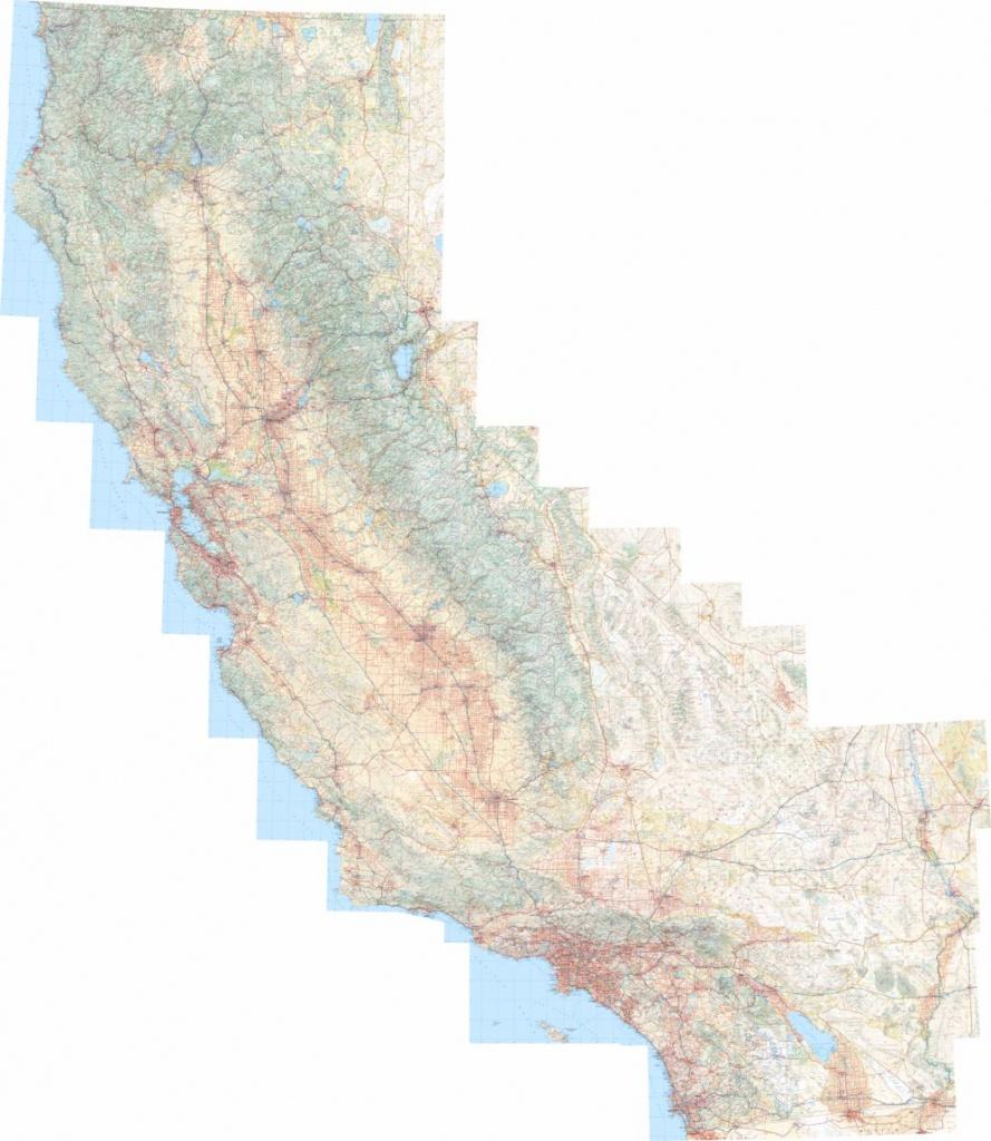 California Atlas Landscape Maps - Benchmark Maps - Avenza Maps - California Atlas Map