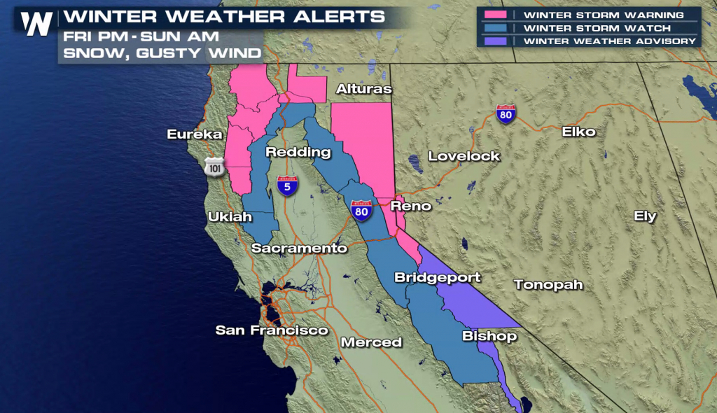 California Braces For Next Winter Storm - Weathernation - California Coast Weather Map